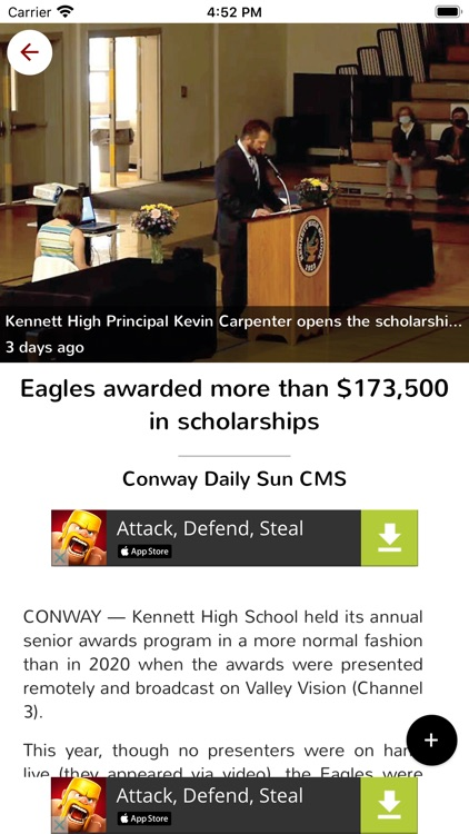 The Conway Daily Sun Replica