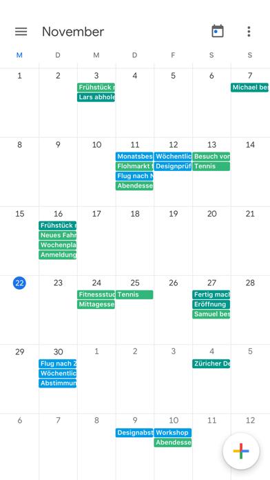 Google Kalender: TerminplanerScreenshot von 5