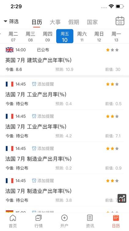 汇通财经 -  fx678外汇期货投资助手 screenshot-4