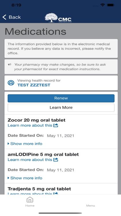 CMC Care screenshot-4
