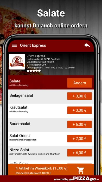 Orient Express Saarlouis screenshot 4