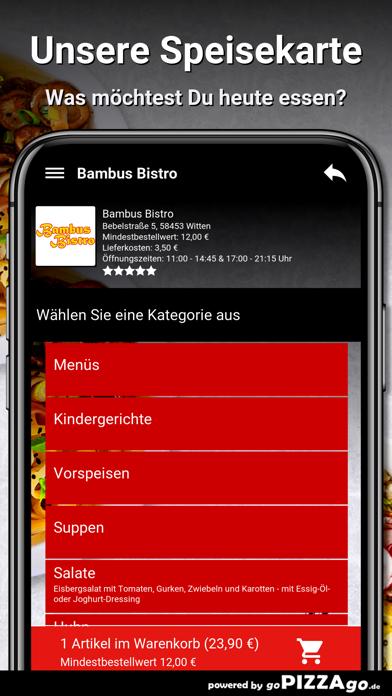 Bambus Bistro Witten screenshot 5