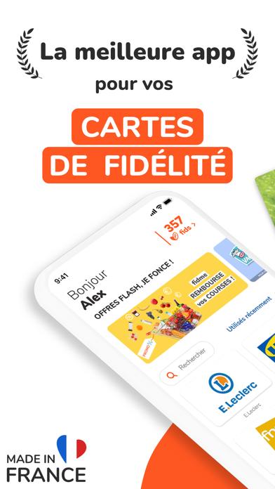 Screenshot #1 pour FIDME Carte de fidélité, Promo