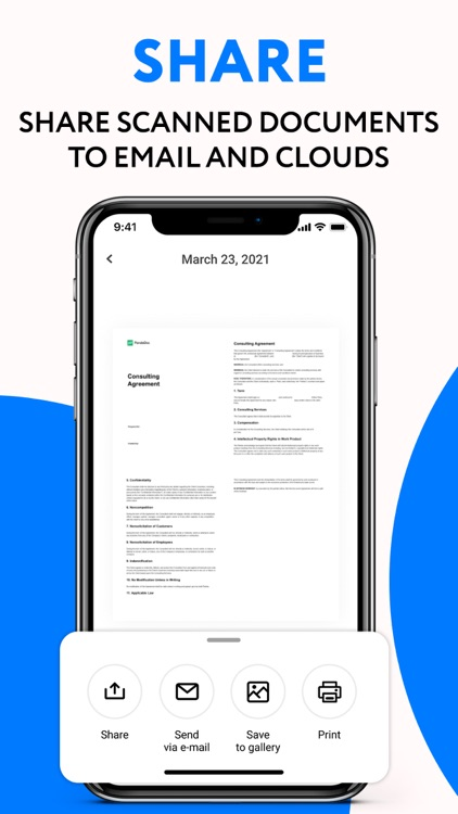 Scan and Sign - Scanner app screenshot-3