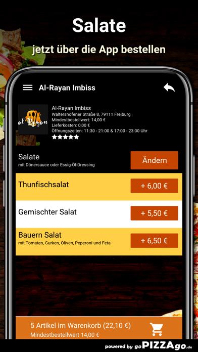 Al-Rayan Imbiss Freiburg screenshot 5