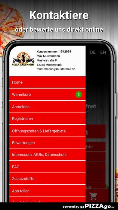 Pizza Taxi Night Karlsruhe screenshot 3