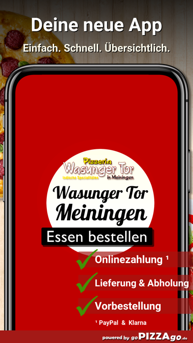 Wasunger Tor Meiningen screenshot 1