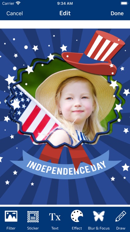 4th Of July Photo Frames