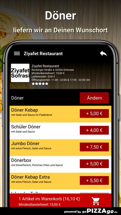 Ziyafet Restaurant Erlensee screenshot 6