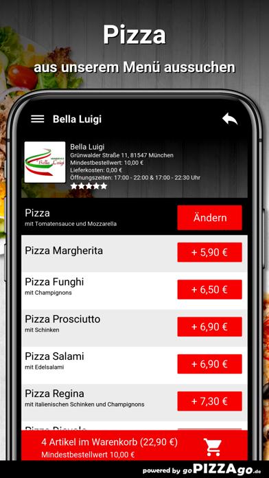 Bella Luigi München screenshot 5