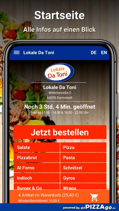 Lokale Da Toni Darmstadt screenshot 2