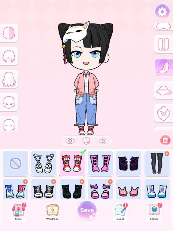iPad Image of Dress Up Donna Doll