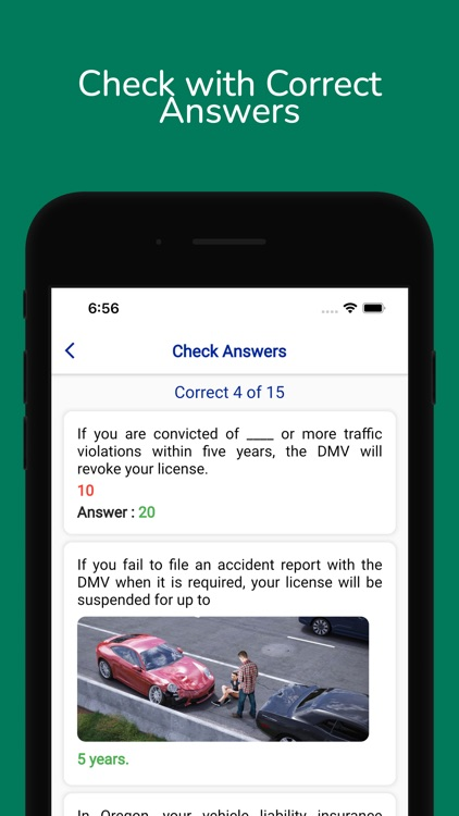Oregon DMV Permit Practice screenshot-8