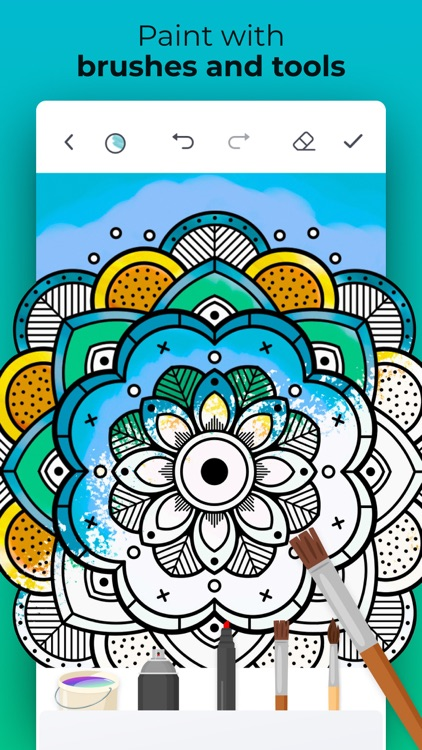 Pro Color: Adult Coloring Book