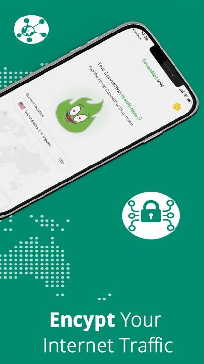 GreenNet VPN Proxy & Unlimited screenshot-3