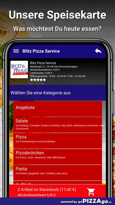 Blitz Pizza Kiel Elmschenhagen screenshot 4