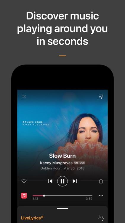 SoundHound - Music Discovery screenshot-0