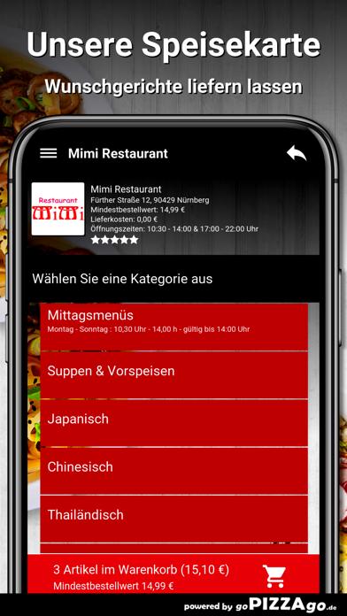 Mimi Restaurant Nürnberg screenshot 2