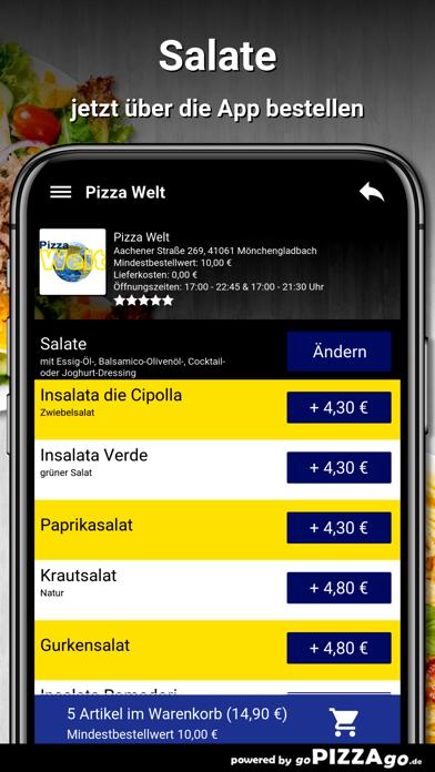 Pizza Welt Mönchengladbach screenshot 5