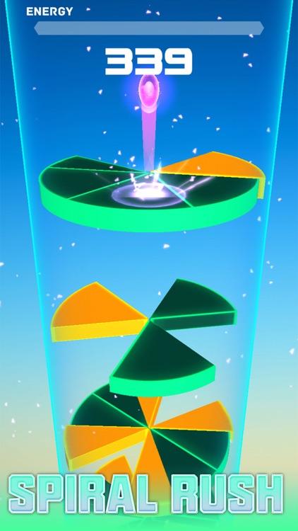 Spiral Rush Go-Jump  On Tower screenshot-0