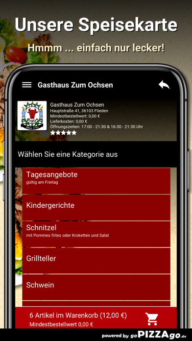 Gasthaus Zum Ochsen Flieden screenshot 4