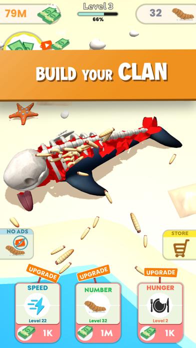 Idle Maggots - Simulator Game screenshot 5