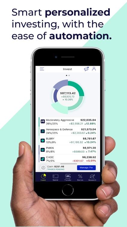 M1 Finance: Yours to build. screenshot-3