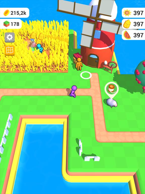 Ipad Screen Shot Farm Land 3D 1