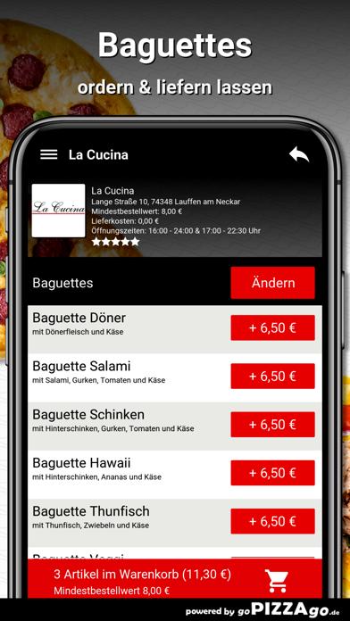 La Cucina Lauffen am Neckar screenshot 6