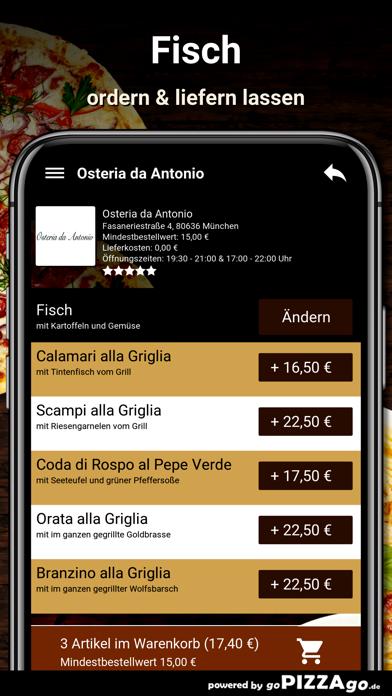 Osteria da Antonio München screenshot 6