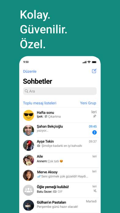 WhatsApp Messenger iphone ekran görüntüleri