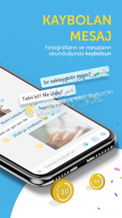 BiP - Mesajlaş, Görüntülü Ara iphone ekran görüntüleri