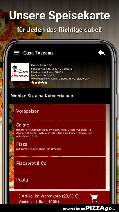 Casa Toscana Oldenburg screenshot 4