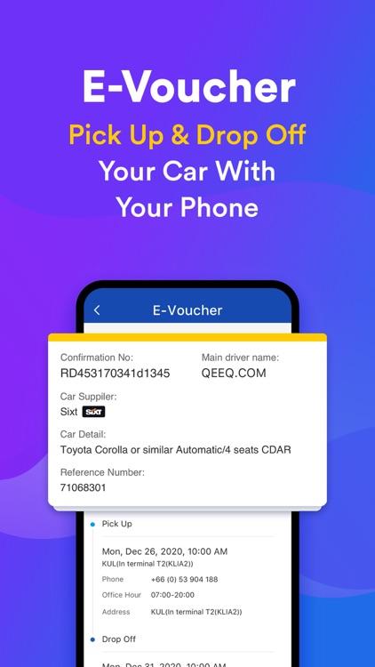 QEEQ Car Rental -  Rental Cars screenshot-6