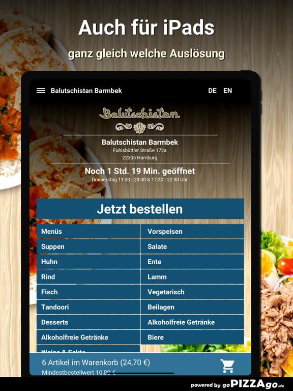 Balutschistan Barmbek Hamburg screenshot 7