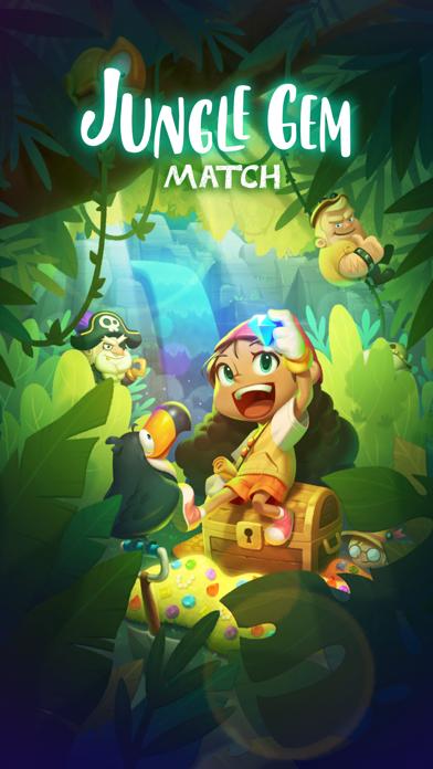 ジャングル・ジェム・マッチ : PvP Match3紹介画像1