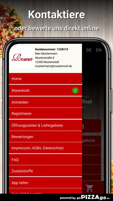 Pizza Roma Günzburg screenshot 3