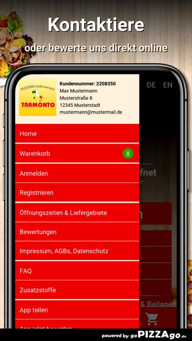 Pizzeria Tramonto Büdingen screenshot 3