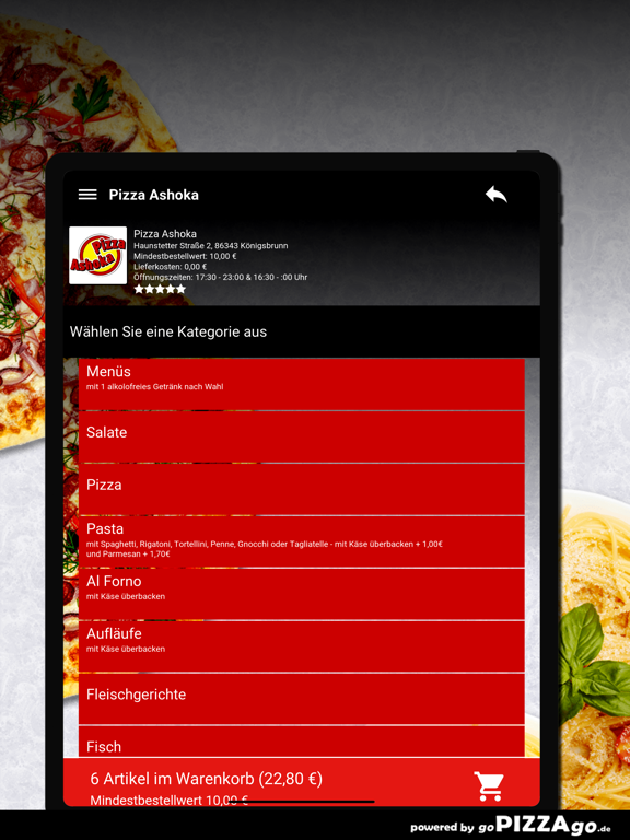 Pizza Ashoka Königsbrunn screenshot 8