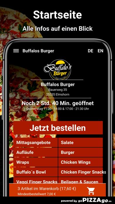 Buffalos Burger Elmshorn screenshot 2