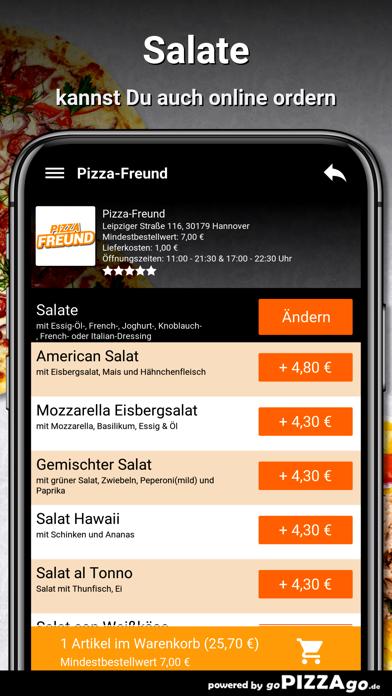 Pizza-Freund Hannover screenshot 5