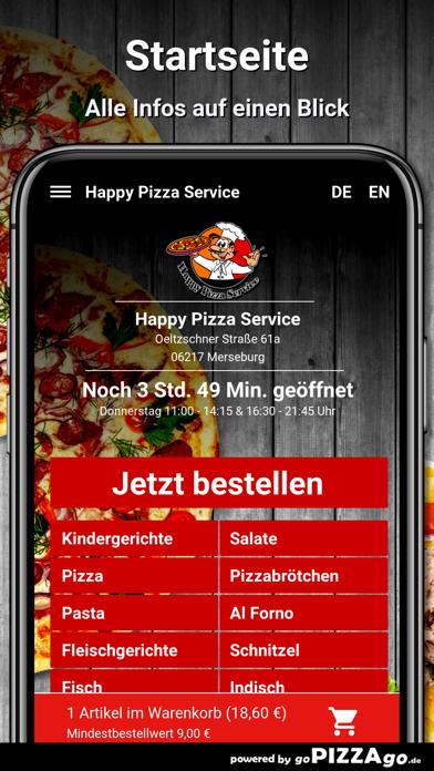 Happy Pizza Service Merseburg screenshot 2
