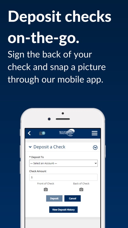 Woodsfield Savings Mobile screenshot-3