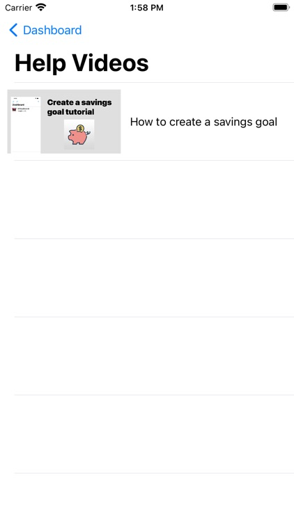 Savings Goal screenshot-4