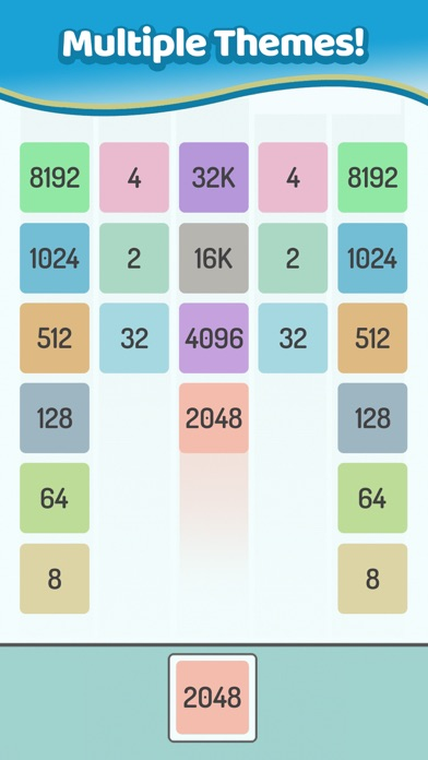 X2 Blocks – Merge Numbers 2048 for windows pc