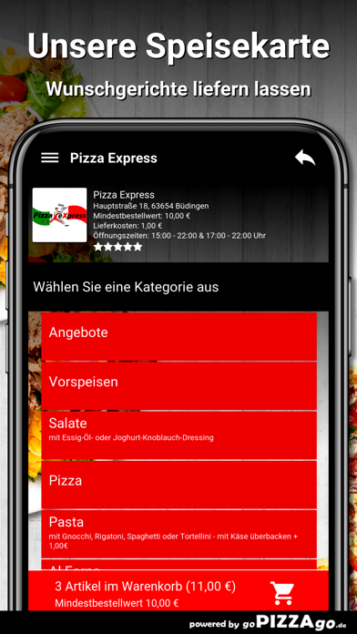 Pizza Express Büdingen screenshot 4