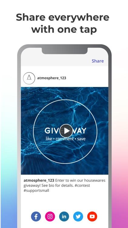 Ripl: Social Videos & Posts screenshot-5