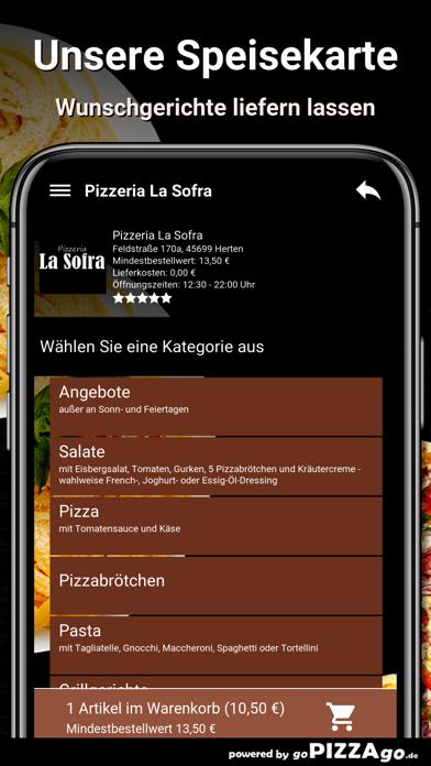 Pizza-Florenz Kassel screenshot 4