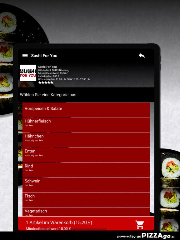 Sushi For You Nürnberg screenshot 8