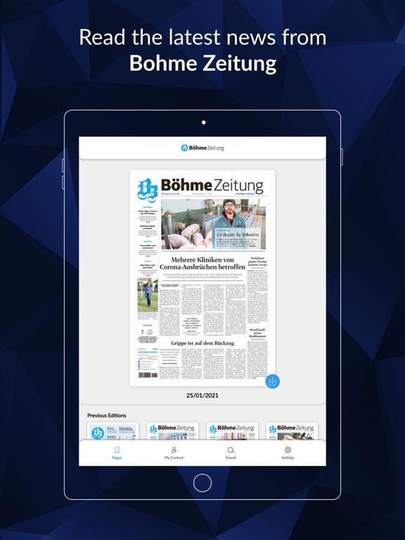 Böhme-Zeitung screenshot 6